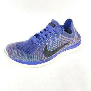 Nike Free 4.0 Flyknit Running Shoes Vivid Purple